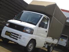 ミニキャブトラックVタイプ  エアコン付 4WD 1年保証