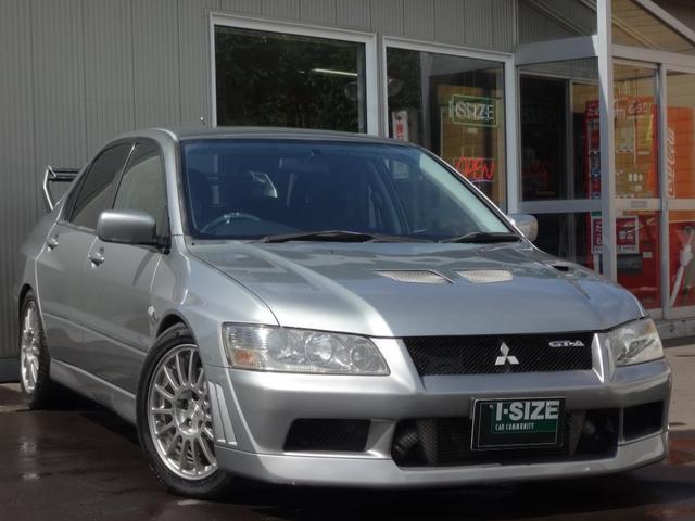 三菱 エボリューションVII GT-A 車高調 FRPボンネット