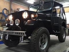 ジープJ58改・4WD・ウィンチ・ソレックス・バケットシート