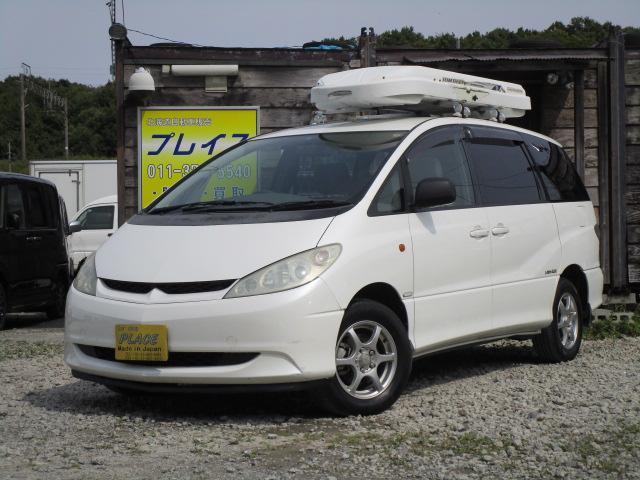 トヨタ アイレムエディション 7人乗り 4WD 純正ナビBカメラ