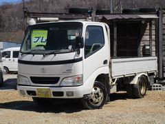 ダイナトラックオートマ 4WD 平ボディ幌付き