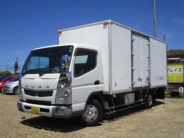 三菱ふそう キャンター ロング ワイド 箱車 積載3トン サイドドア パネルバン オートマ