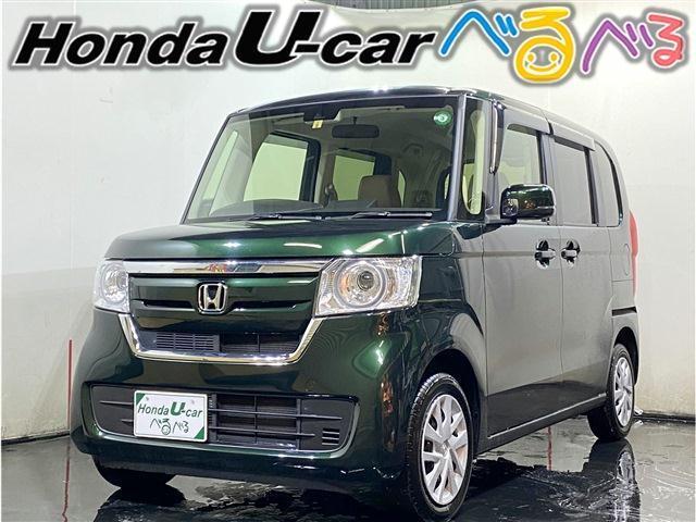 ホンダ N-BOX Gホンダセンシング 4WD ナビ・カメラ・Bluetoothオーディオ LEDライト ワンオーナー 走行距離8000キロ