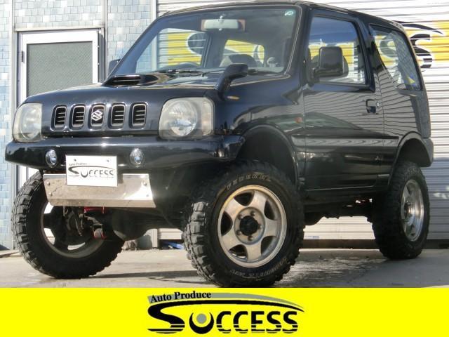 スズキ XG 4WD リフトアップ