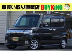 タントG 4WD ワンオーナー エアロ 純正ナビ TV スターター