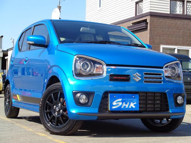 スズキ ベースグレード ターボ 4WD 新色ブリスクブルー