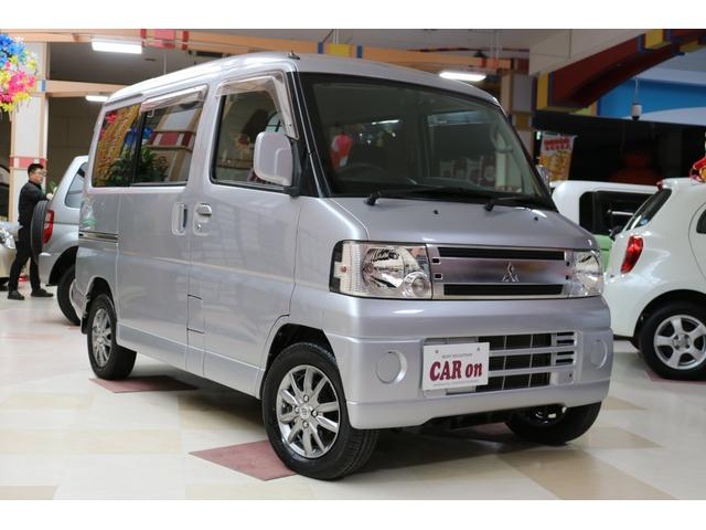 三菱 キャンパーRXターボ 4WD  ナビ バックカメラ ETC