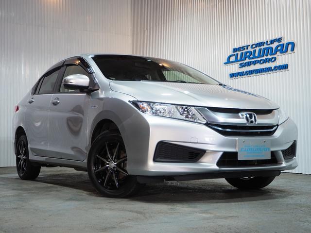 ホンダ グレイス ハイブリッドDX 4WD ナビ ETC キーフリーシステム プッシュスタート ワイパーデアイサー VSA クルーズコントロール 新品15AW 新品タイヤ 1年間保証・走行距離無制限