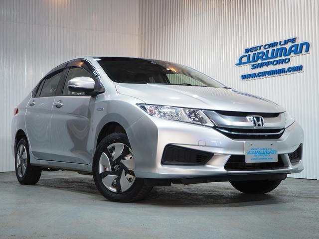 ホンダ ハイブリッドDX 4WD 社外ナビ Bluetooth対応 横滑り防止 寒冷地仕様 ワイパー熱線 Sモード スマートキー&プッシュスタート ETC ミラーヒーター 電動格納ミラー ウィンカーミラー ドアバイザー