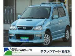 テリオスキッドカスタムL 4WD ターボ マニュアル 社外CD 純正アルミ