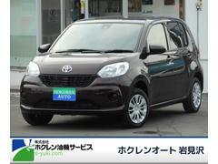 パッソX LパッケージS 4WD スマアシ 純正ナビ レンタUP