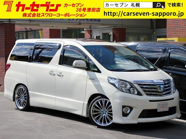 トヨタ SR-Cツインナビ 18SP 黒革エグゼクティブ サンルーフ