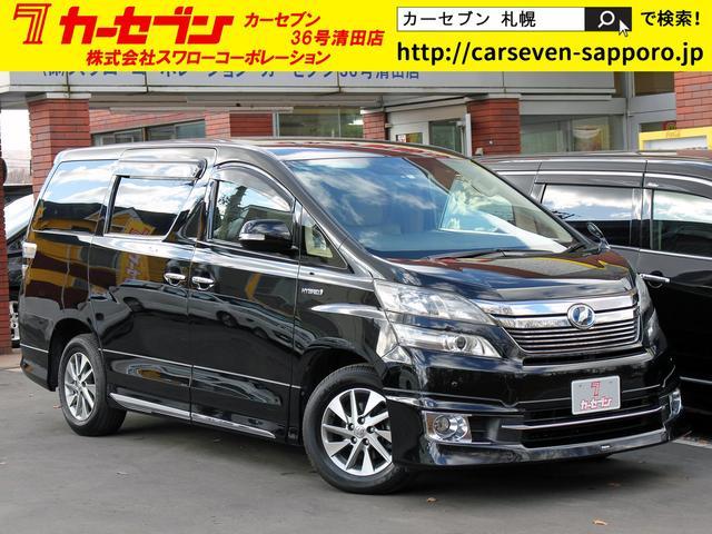 トヨタ X モデリスタ HDD Bカメラ 左右電動 7人乗オットマン