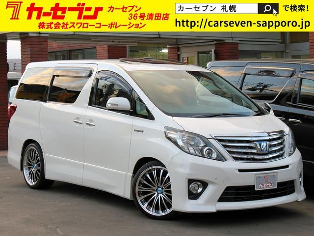 トヨタ SR-C HDD サンルーフ 黒革エグゼクティブ 左右R電動