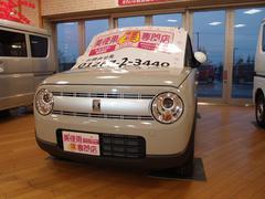 アルトラパンS 4WD 未使用車 屋内展示 ツートン ホワイトルーフ