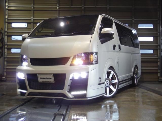 トヨタ 東京オートサロン出展車両 アウトバーンデモカー 4WD