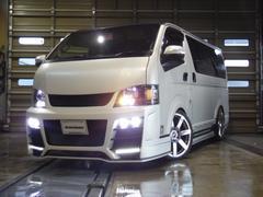 ハイエースバン東京オートサロン出展車両 アウトバーンデモカー 4WD