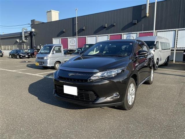 「トヨタ」「ハリアーハイブリッド」「SUV・クロカン」「北海道」の中古車