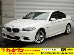 BMW528iMスポーツPKG 黒革 メーカーナビTV 19AW