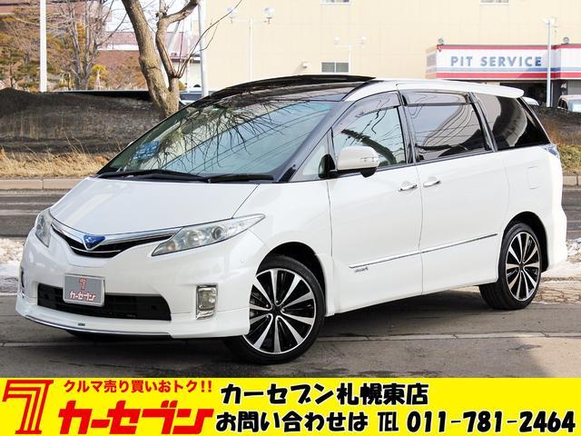 トヨタ G モデリスタ サンルーフ ツインモニタ- 電動格納シート