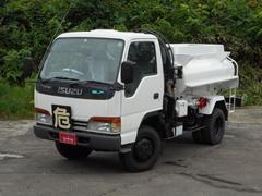 エルフトラックベースグレード 4WD 5速 2室タンク 電動ホースリール