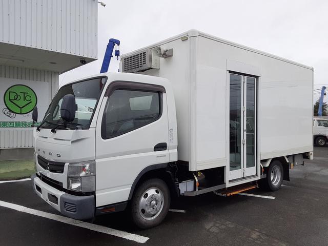 三菱ふそう  移動販売車 冷蔵冷凍車 ヒーター付 バックカメラ ショーケース付