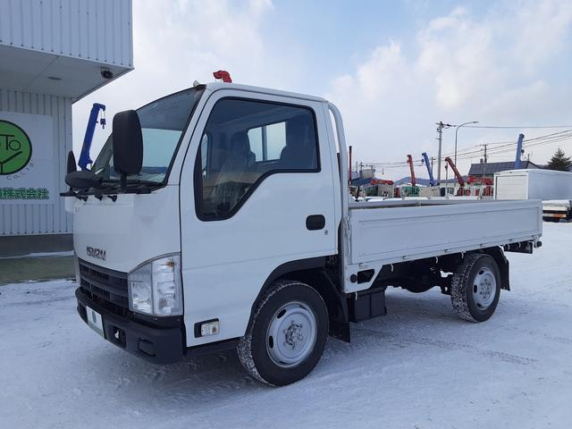 いすゞ  平ボディ 4WD オートマ 社外ナビ付 積載1.5t 荷台内寸L310W162H30