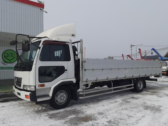 UDトラックス コンドル  平ボディ ワイド超ロング アルミブロック 積載3.7t 荷台内寸L622W237L78
