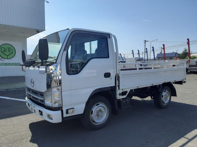 マツダ タイタントラック  平ボディ 4WD オートマ シングルタイヤ 積載2t 荷台内寸L311W161H38