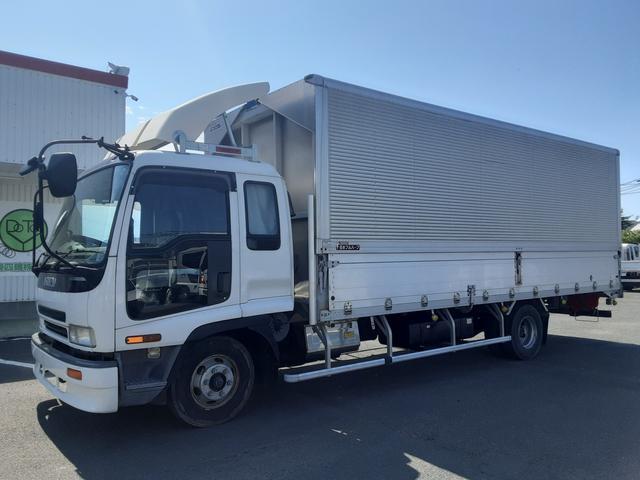 いすゞ フォワード  アルミウィング ワイド超ロング 積載3t 荷台内寸L630W241H225