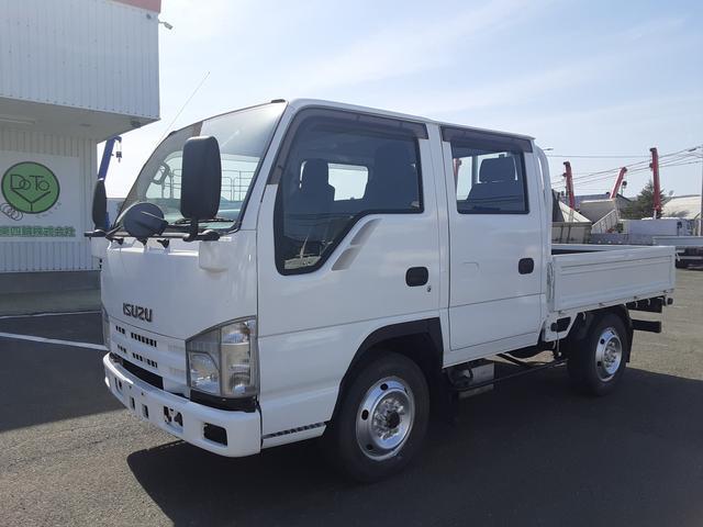いすゞ  4WD Wキャブ シングルタイヤ Rヒーター 積載1.15t 荷台内寸L207W161H38