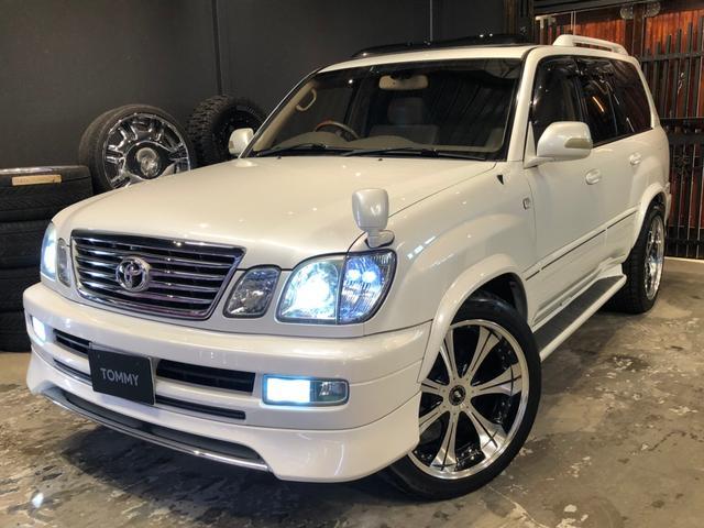 トヨタ ランドクルーザー100 シグナス シグナス4.7 4WD ヒッチメンバー/ロデオドライブ22インチ