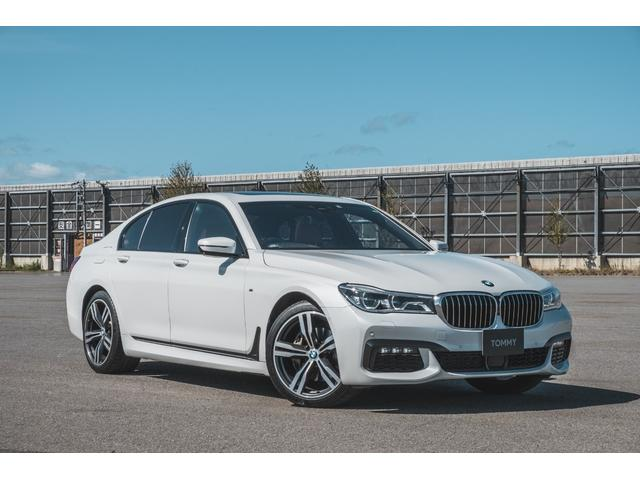 BMW 7シリーズ 740d xDrive Mスポーツ harman/kardonオーディオ/サンルーフ/禁煙車/本革シート/bluetooth/USB接続/アダプティブクルコン/ジェスチャーコントロール/HUD/ETC/パワートランク/ディスプレイキー