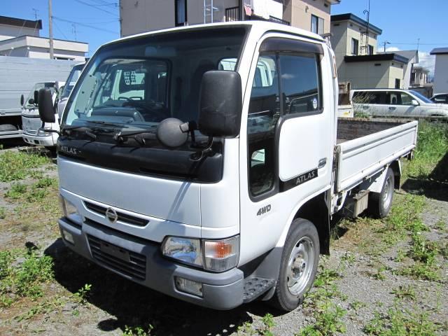 日産 1.45t 平ボデー 4WD