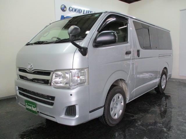トヨタ ロングDX 3/6/9人 4ドア 4WD ナビTV リアH