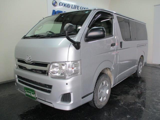 トヨタ ロングDX 3/6/9人 4ドア 4WD AT リアヒーター