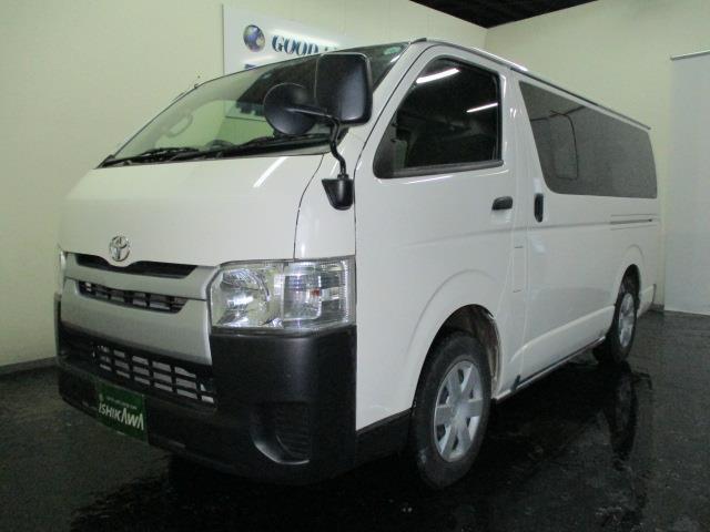 トヨタ ロングDX 4WD 3/6/9人 4ドア フル装備 AT