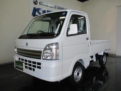 キャリイトラックKCエアコン・パワステ 4WD PW 5MT 登録済未使用車