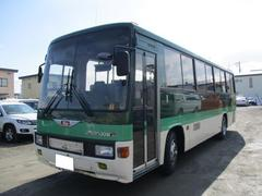 ヒノレインボー中型バス 41名乗り AT オートドア エアサス プレヒータ