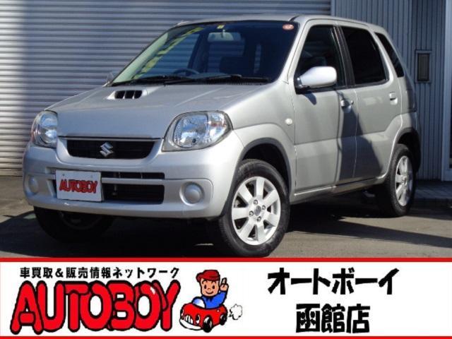 スズキ Kei Bターボ 4WD マニュアルシフト ABS キーレス シートヒーター 電動格納ミラー 純正アルミ