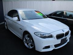BMW523iエクスクルーシブスポーツ300台限定ブラウン革HUD