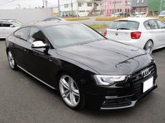 アウディ S5スポーツバックブラックスタイリング・アシスタントPKG19AW黒赤レザー