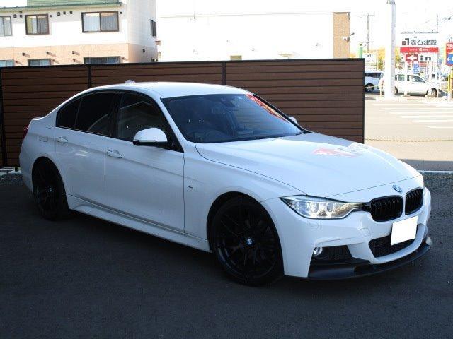BMW 320d Mスポーツ フルセグ デイライト NEWブラックグリル・フロントスポイラー フロントアシスト レーンアシスト