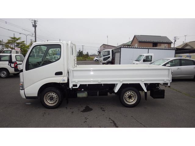 トヨタ ダイナトラック シングルジャストロー 荷台塗装仕上げ済み 本州仕入れ 最大積載量1250キロ 荷台内寸約275x160x38