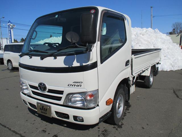トヨタ ダイナトラック ロングシングルジャストロー4WD Dターボ木製ボデー 寒冷地