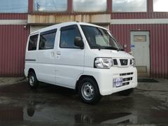 NV100クリッパーバンチェアキャブスロープタイプ 4WD 車椅子移動車