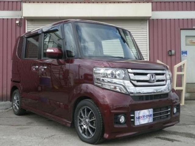 ホンダ N-BOXカスタム G 4WD 社外ナビTV バックカメラ エンジンスターター