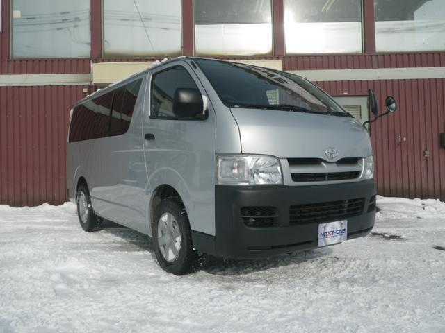 トヨタ ロングDX 4WD 9人乗り タイミングベルイト交換済