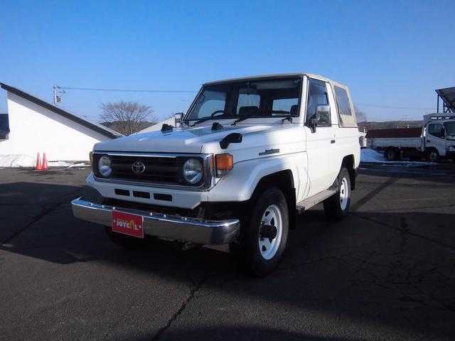 トヨタ LX 幌 ディーゼル 4WD