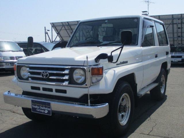 トヨタ LX ディーゼル マニュアル 4WD ナビ ETC